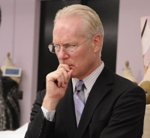 "Found when googling ""Tim Gunn looking disapproving."" Hilariously/ironically found on this Mom Corrected post."
